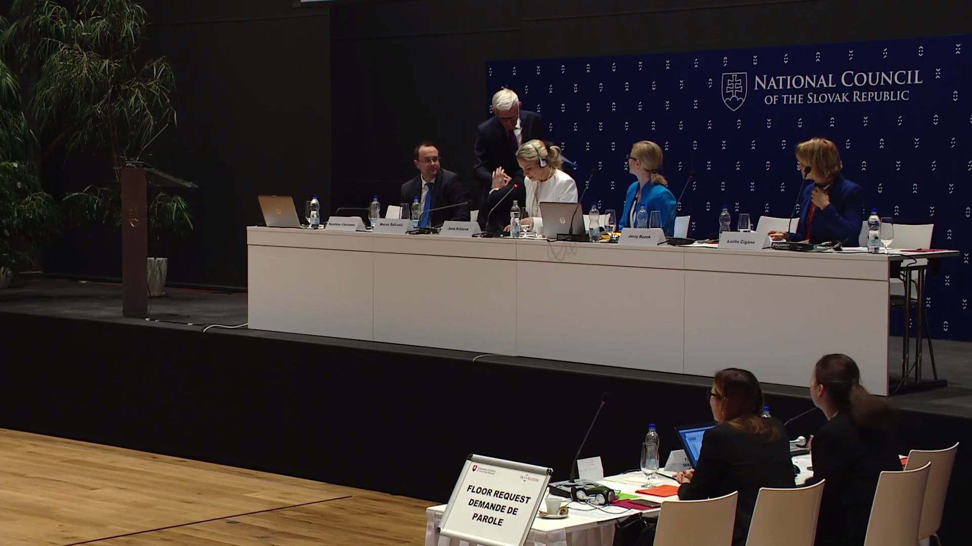 Meeting of the Chairpersons of the Economic Affairs Committees on the Energy Union - Session 1