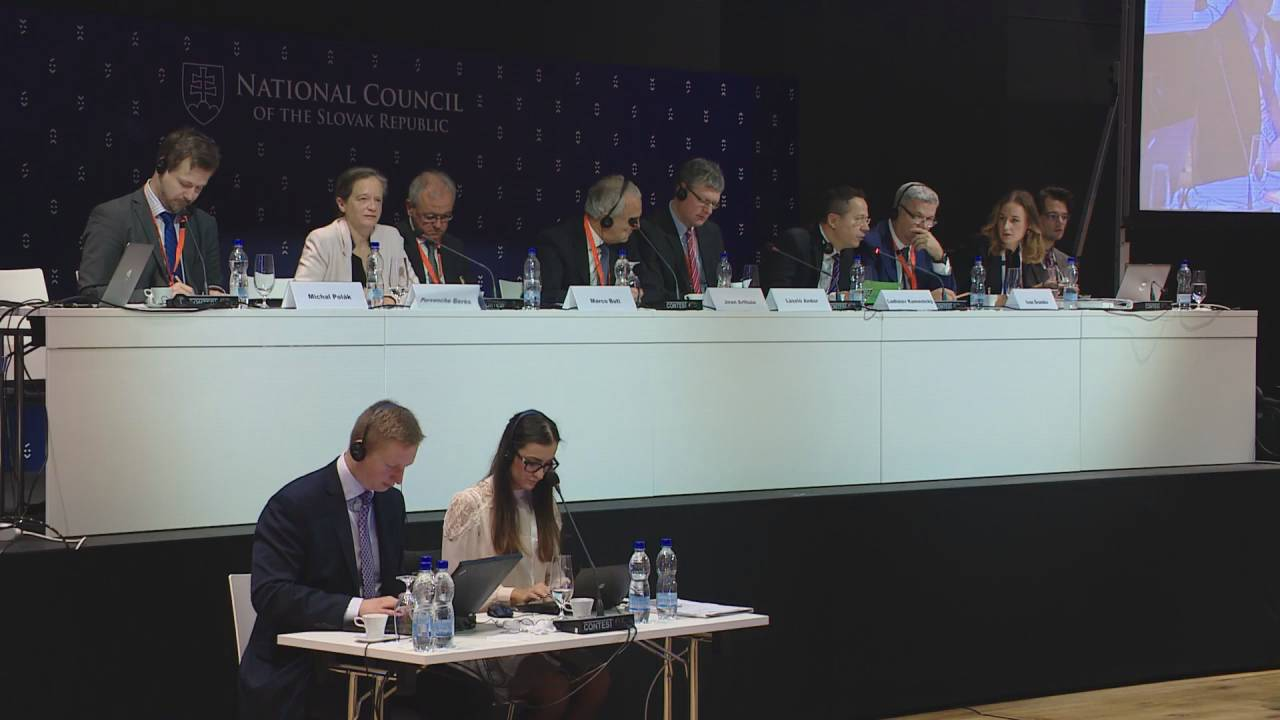 Session 3 INTERPARLIAMENTARY CONFERENCE ON STABILITY, ECONOMIC COORDINATION AND GOVERNANCE IN THE EUROPEAN UNION